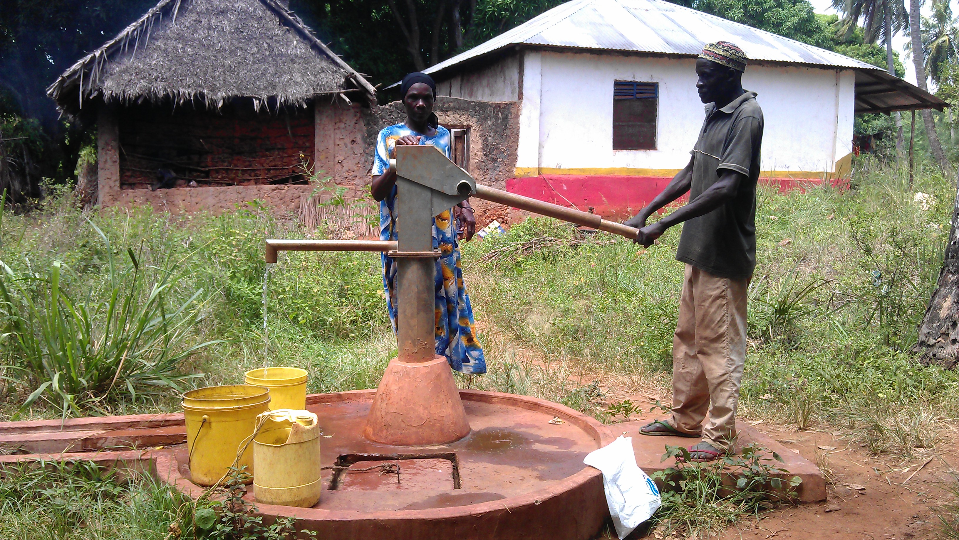 Another working hand pump