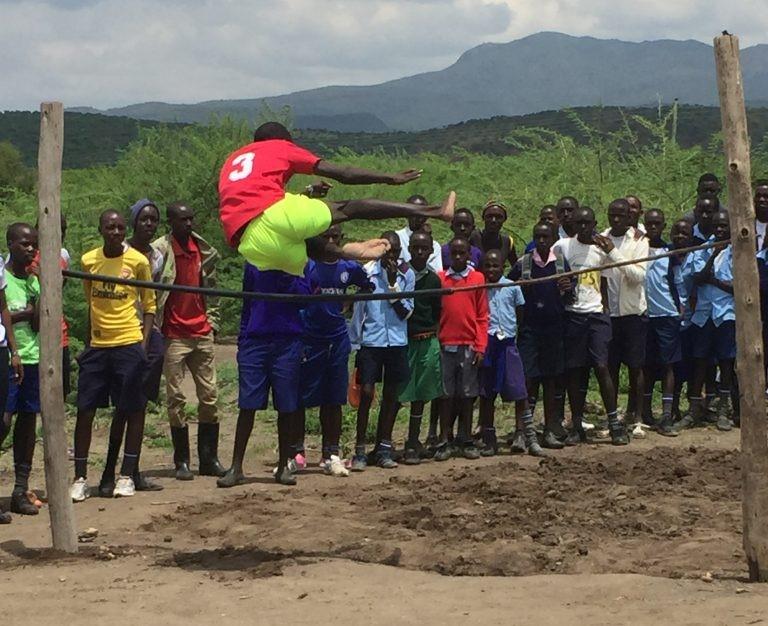 High jump Maasai style