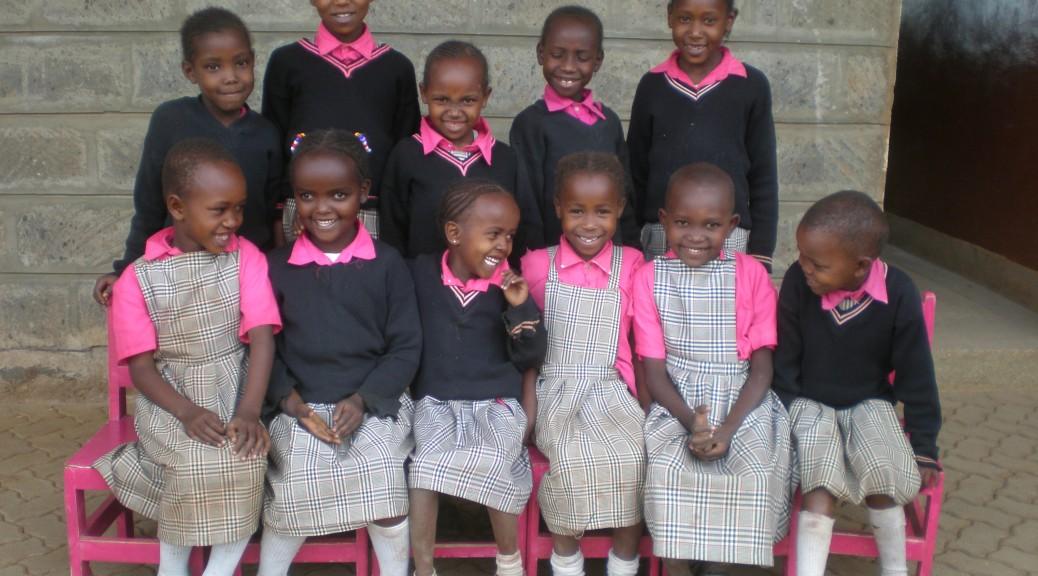 Senkenoi enjoying school with her friends